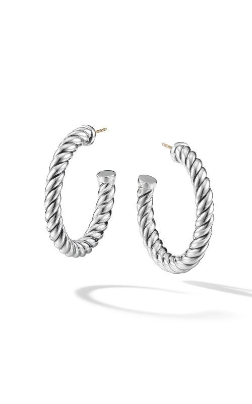 Cable Classics Hoop Earrings product image