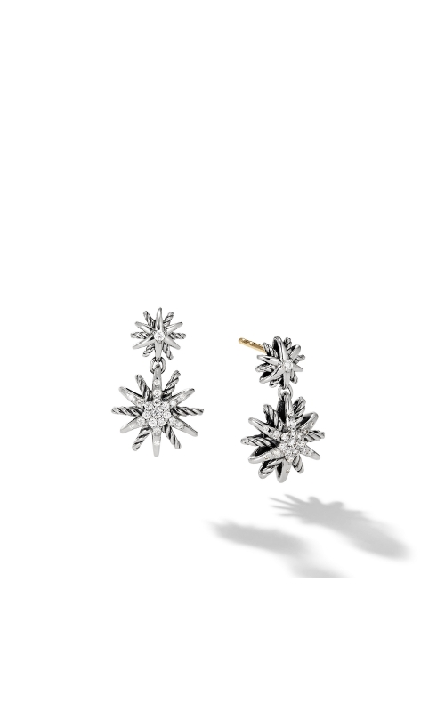 Starburst Double-Drop Earrings with Diamonds product image