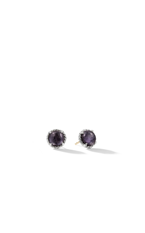 Earrings with Black Orchid product image