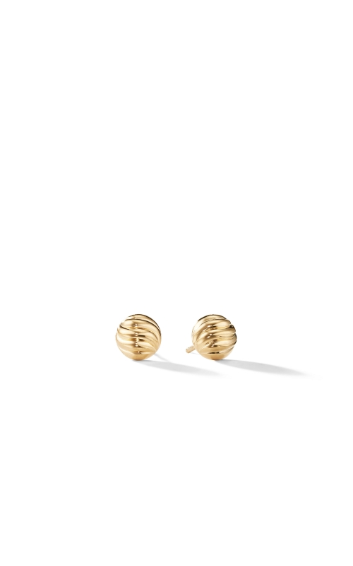 Sculpted Cable Earring in Gold product image