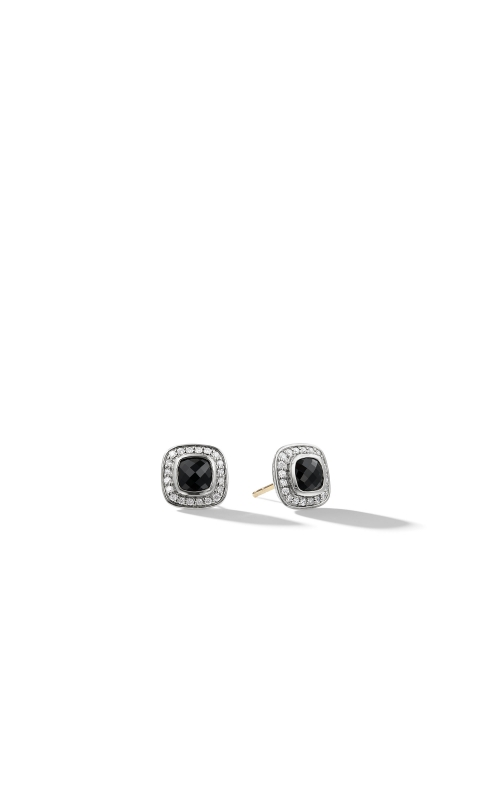Petite Albion Earrings with Black Onyx and Diamonds product image