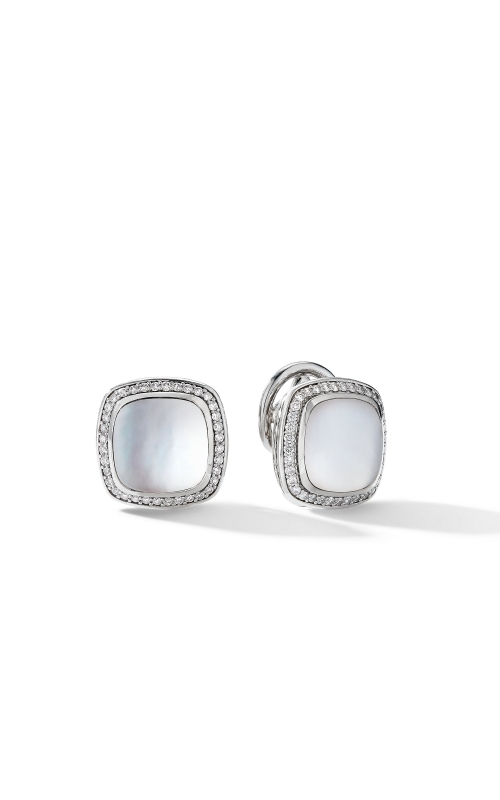 Albion® Stud Earrings with Rock Crystal and Diamonds product image