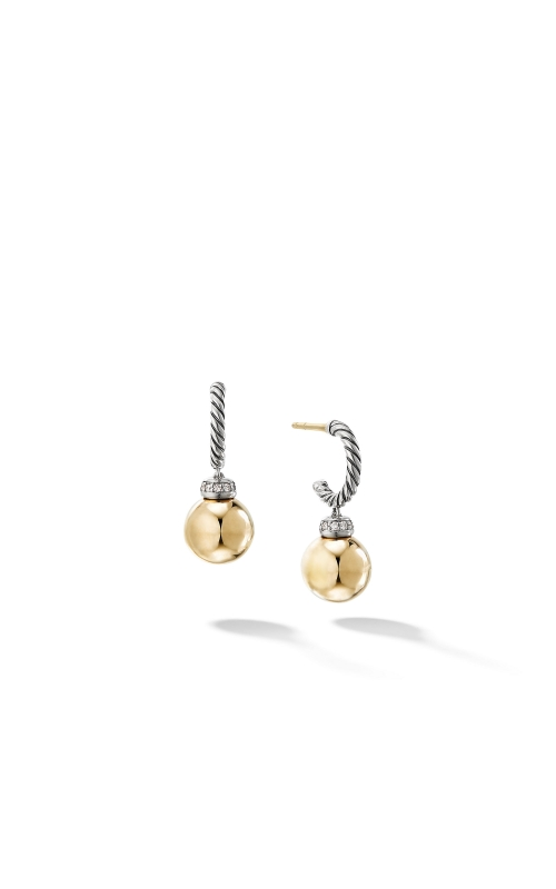 Solari Drop Earrings with Diamonds and 18K Gold product image