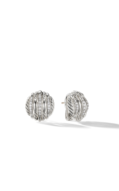 Tides Stud Earrings with Diamonds product image