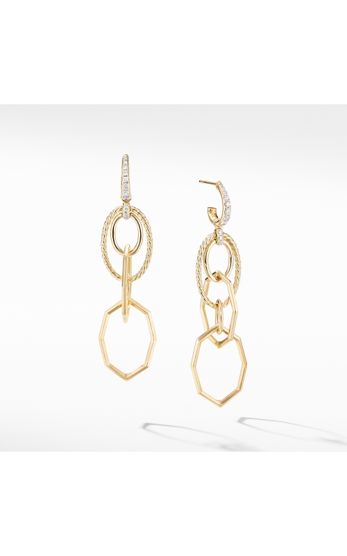 Stax Mobile Drop Earrings in 18K Yellow Gold with Diamonds product image