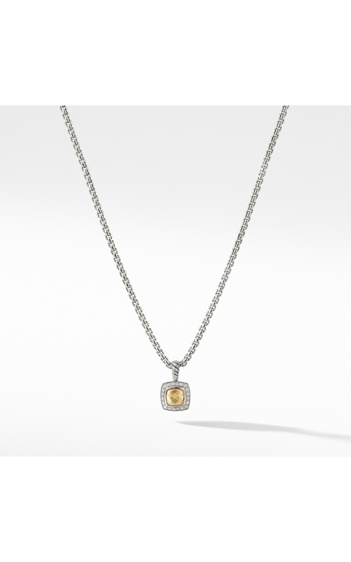 Petite Albion Pendant Necklace with 18K Gold Dome Diamonds product image