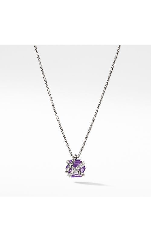 Necklace with Amethyst and Diamonds product image