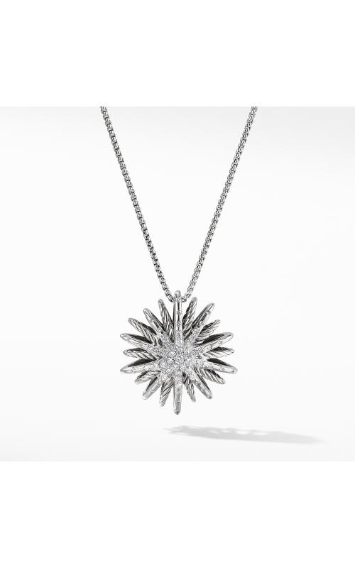 Starburst Medium Pendant Necklace with Diamonds product image
