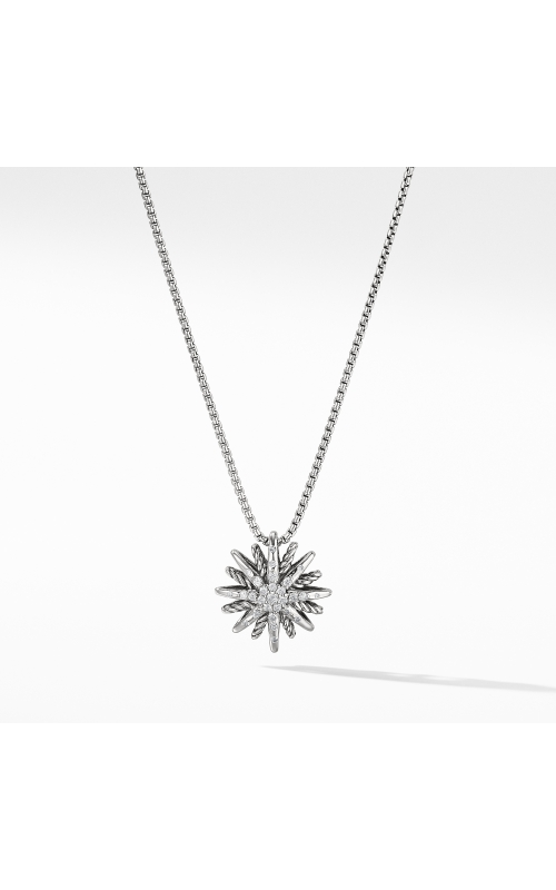Starburst Small Pendant Necklace with Diamonds product image