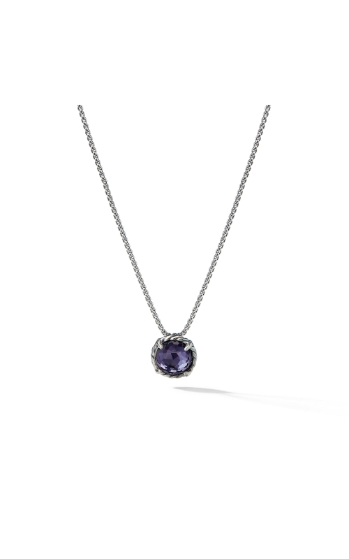 Chatelaine® Pendant Necklace with Black Orchid product image