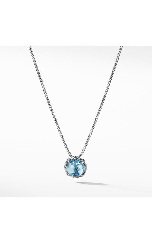 Chatelaine® Pendant Necklace with Blue Topaz product image