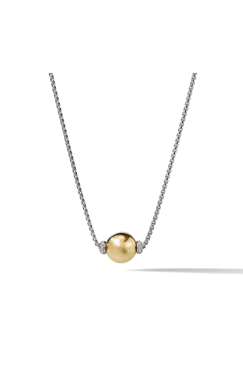 Solari Pendant Necklace with Diamonds and 18K Gold product image