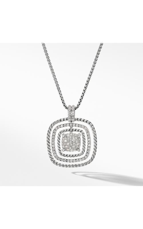 Chatelaine® Pavé Pendant Necklace product image