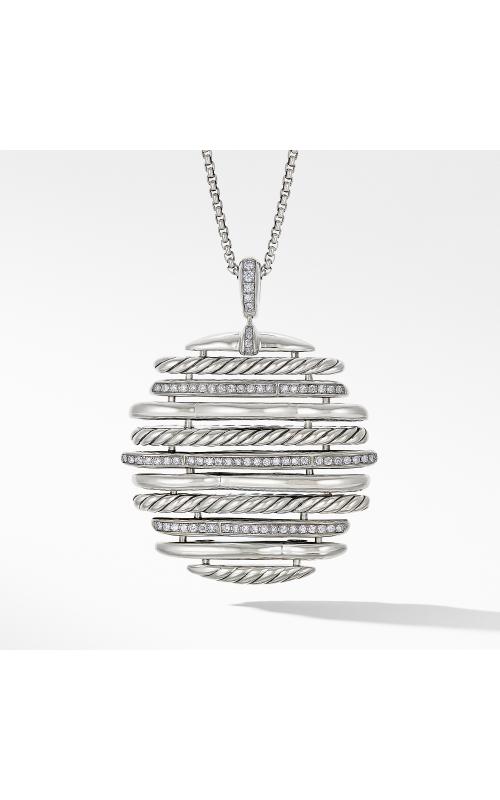 Tides Pendant Necklace with Diamonds product image