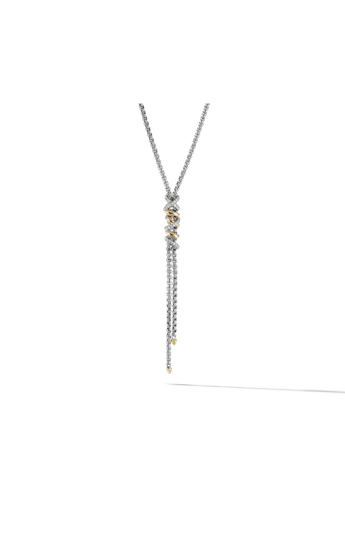 Helena Y Necklace with 18K Yellow Gold with Diamonds product image