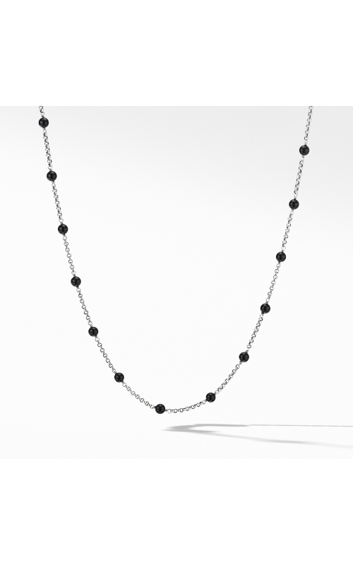 Cable Collectibles® Bead and Chain Necklace with Black Onyx product image