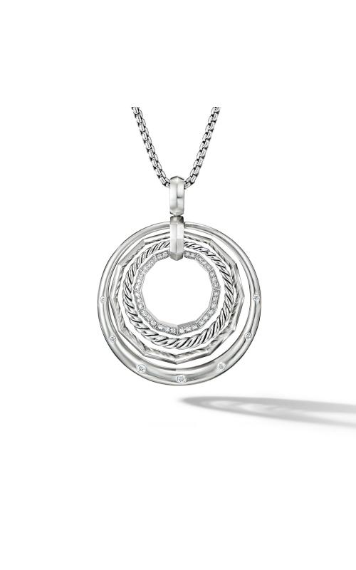 Stax Medium Pendant Necklace with Diamonds product image