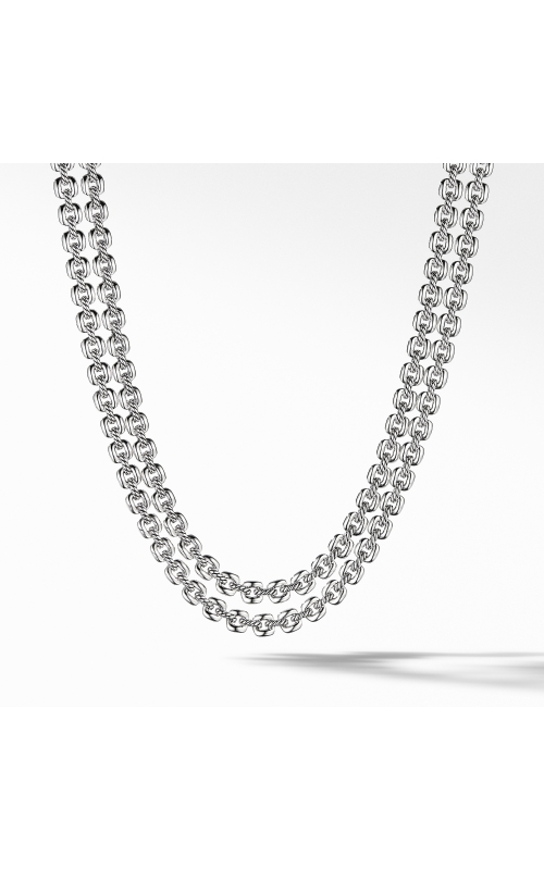 Thoroughbred® Double Row Cushion Link Necklace product image