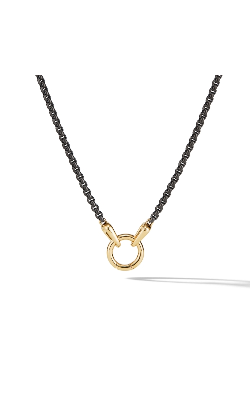 Charm Necklace with 18K Yellow Gold, product image