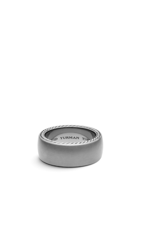 Streamline Wide Band Ring with Gray Titanium product image