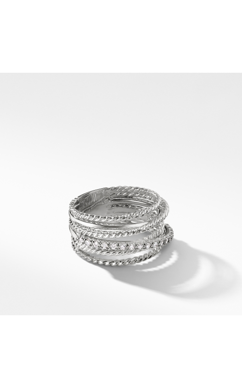 The Crossover Collection® Wide Ring with Diamonds product image