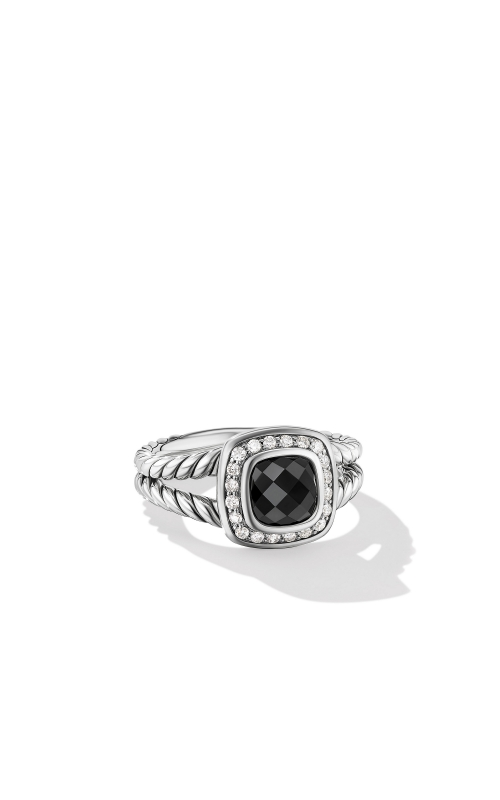 Petite Albion® Ring with Black Onyx and Diamonds product image
