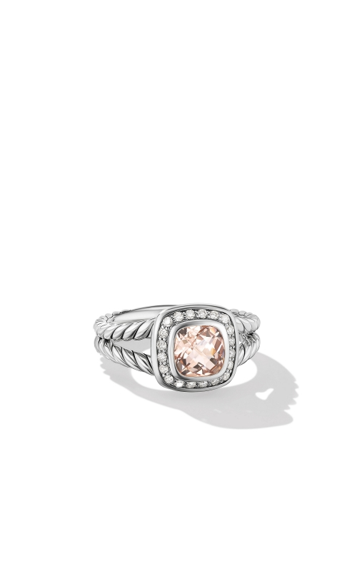 Petite Albion Ring with Morganite and Diamonds product image