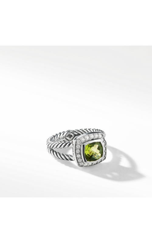 Petite Albion Ring with Peridot and Diamonds product image