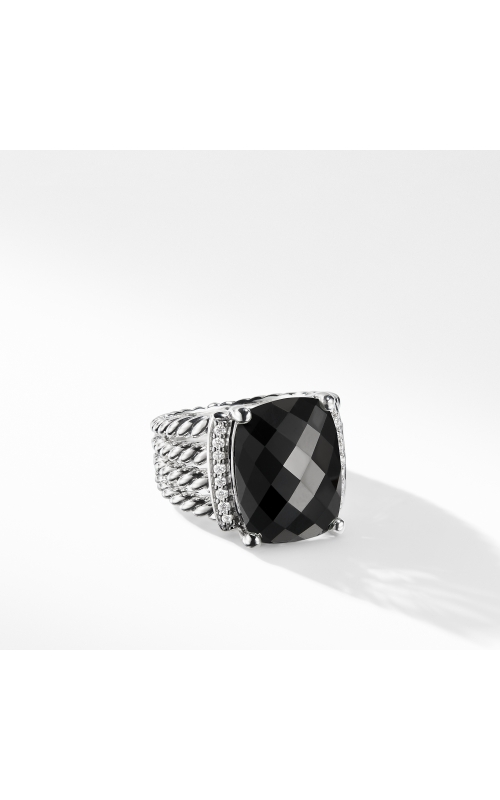 Wheaton Ring with Black Onyx and Diamonds product image