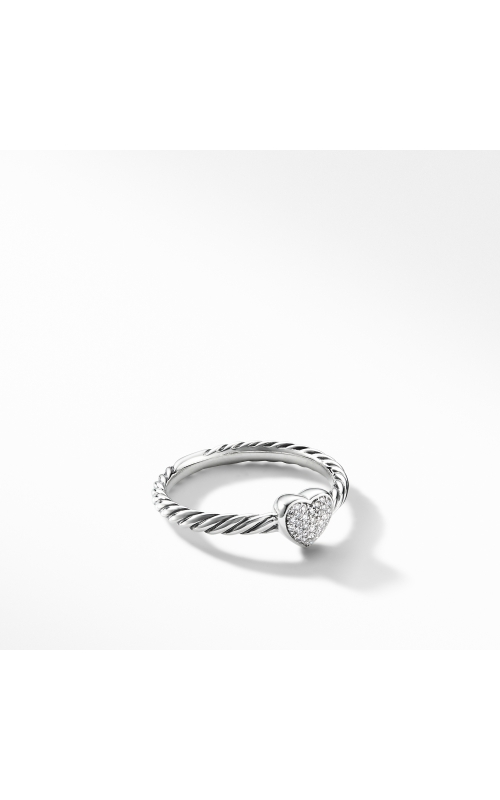 Cable Collectibles Heart Ring with Diamonds product image