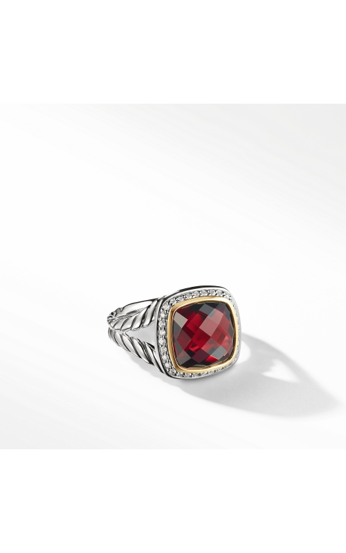 Ring with Garnet and Diamonds with 18K Gold product image