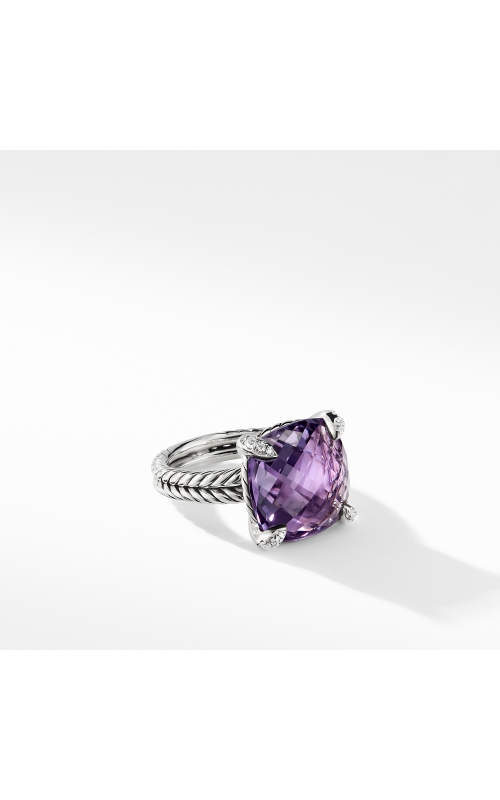 Ring with Amethyst and Diamonds product image