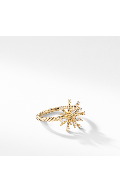 Supernova Ring with Diamonds in 18K Gold product image