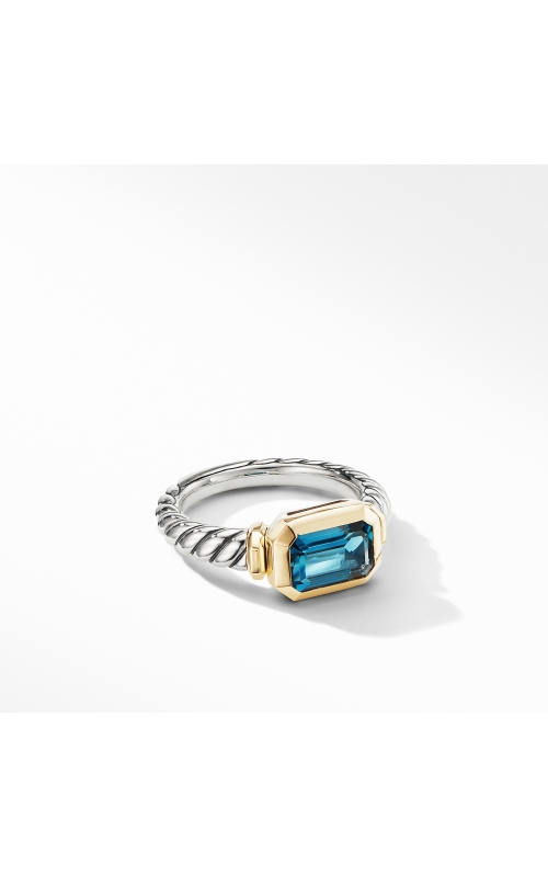 Novella Ring with Hampton Blue Topaz and 18K Yellow Gold product image
