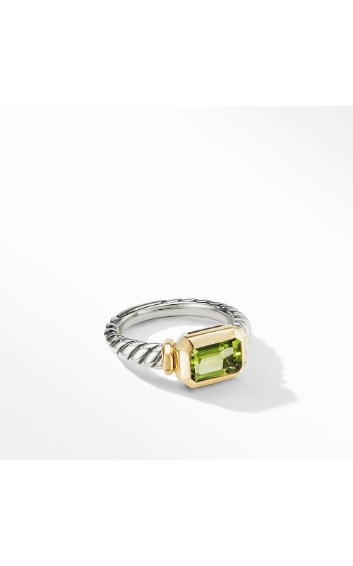 Novella Ring with Peridot and 18K Yellow Gold product image