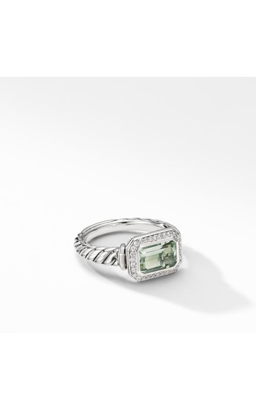 Novella Ring with Prasiolite and Pavé Diamonds product image