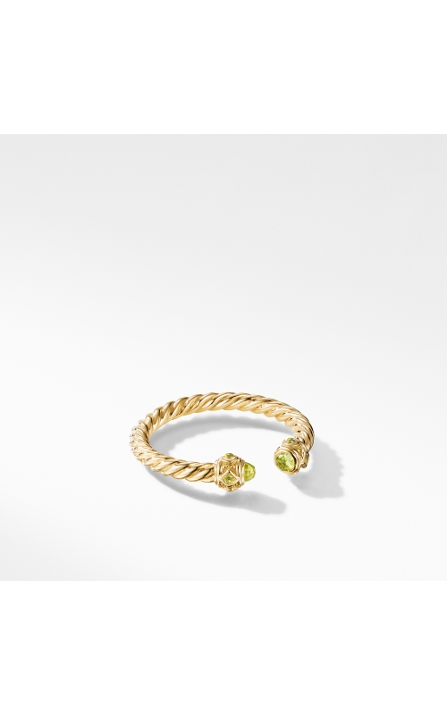 Renaissance Ring in 18K Yellow Gold with Peridot product image