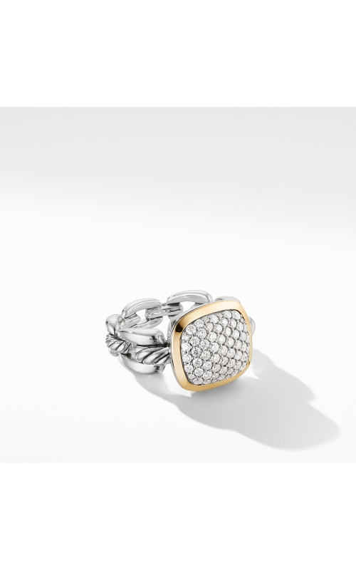 Wellesley Link Statement Ring with 18K Gold and Diamonds product image