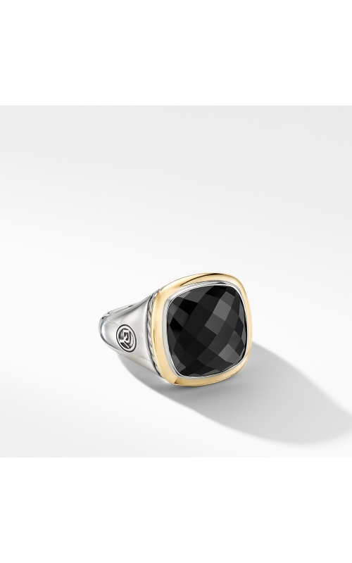 Albion® Ring with Black Onyx and 18K Yellow Gold product image