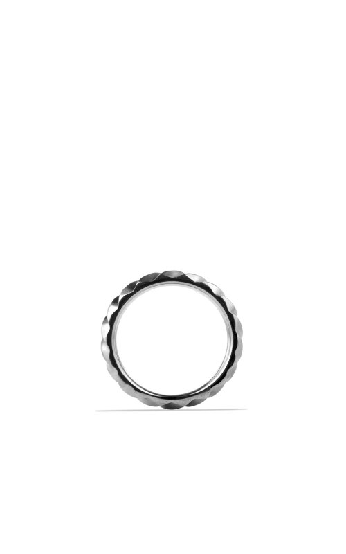 Modern Cable Narrow Band Ring with Gray Titanium product image