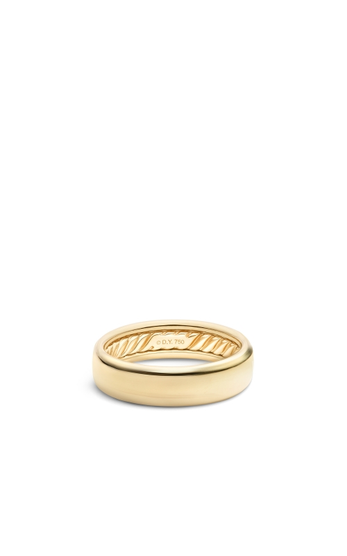 DY Classic Band Ring in 18K Yellow Gold product image