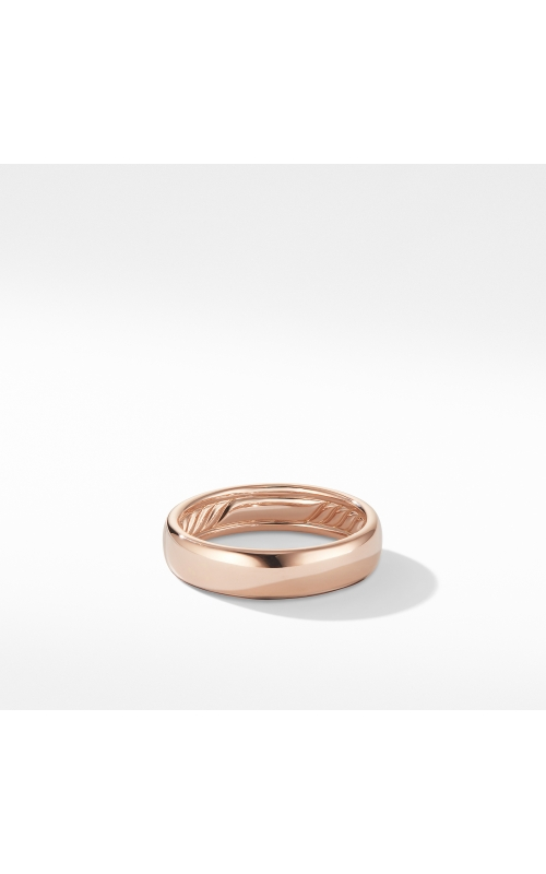 DY Classic Band Ring in 18K Rose Gold product image