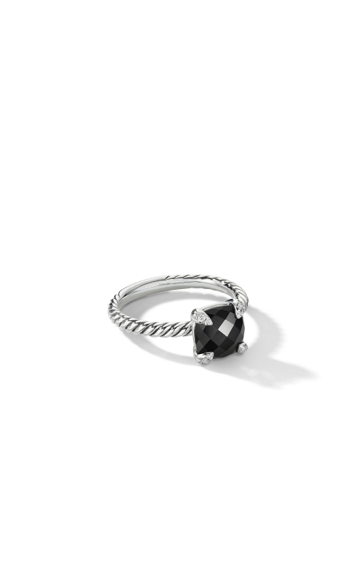 Chatelaine® Ring with Black Onyx and Diamonds product image