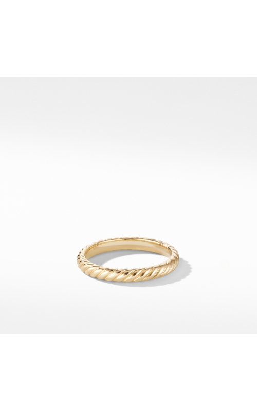 Cable Band Ring in 18K Yellow Gold product image