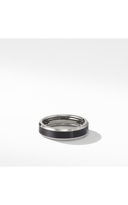 Beveled Band Ring in Grey Titanium with Black Titanium product image