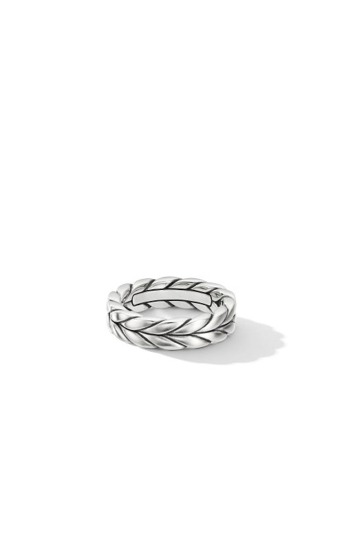 Chevron Woven Band Ring product image
