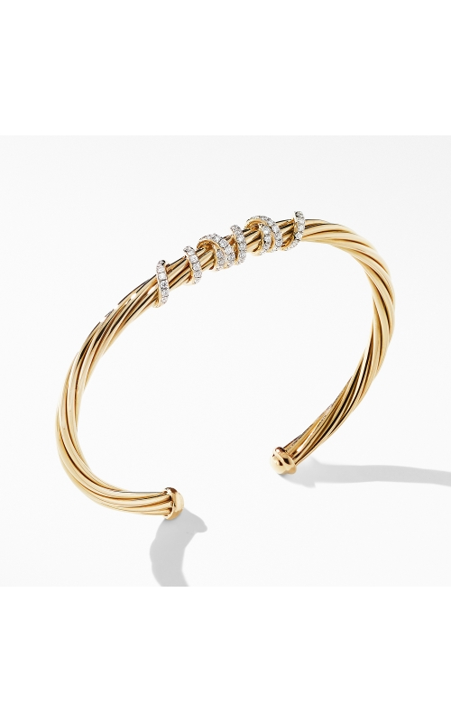 Helena Center Station Bracelet in 18K Yellow Gold with Diamonds product image