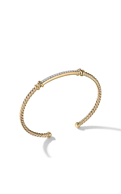 Petite Helena Two Station Wrap Bracelet in 18K Yellow Gold with Diamonds product image