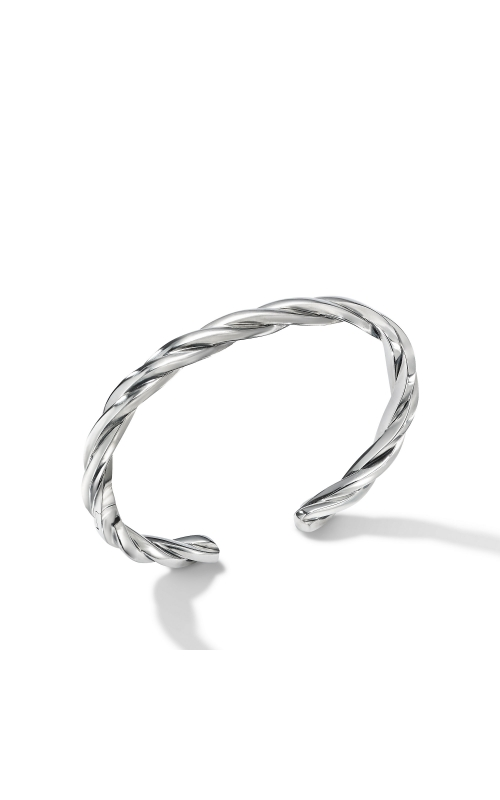 Narrow Twisted Cable Cuff Bracelet product image