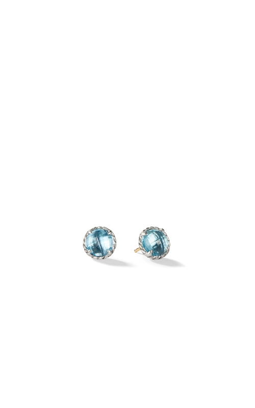 Earrings with Blue Topaz product image